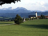 Курорт в Баварии